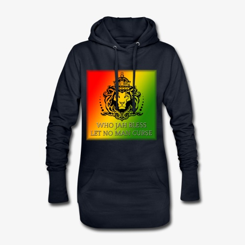WHO JAH BLESS DESIGN - Hoodie Dress