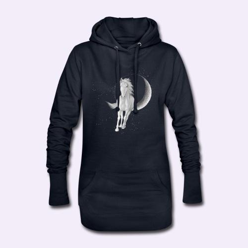 Sternenpferd cover - Hoodie-Kleid