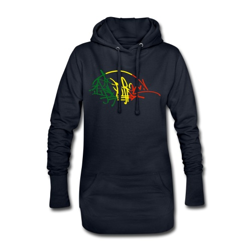 ikon vjr tag - Sweat-shirt à capuche long Femme