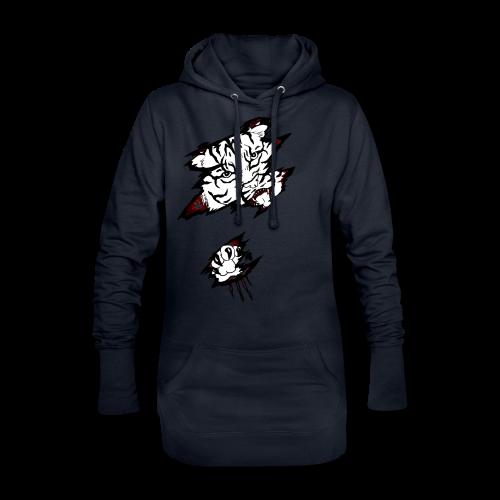 Böser Tiger - Hoodie-Kleid