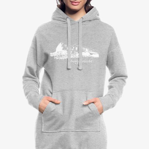 #Bergverliebt - Hoodie-Kleid