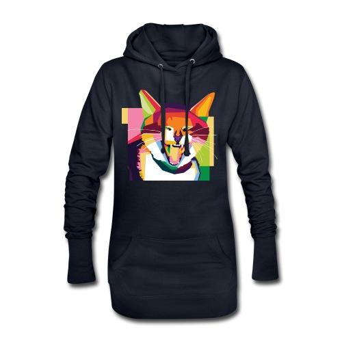 p3tshirt - Hoodie-Kleid