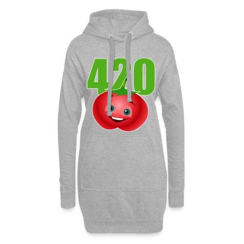 Tomate 420 - Hoodie-Kleid