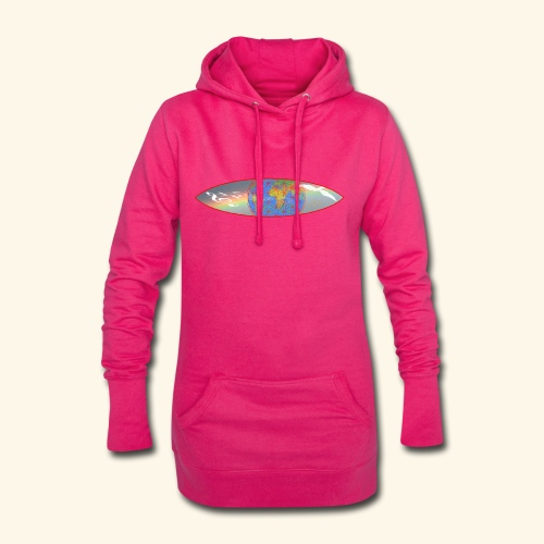 Heal the World - Hoodie-Kleid