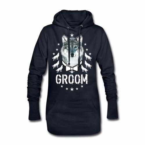 161 Wolf JGA GROOM Wolfpack Sterne - Hoodie-Kleid