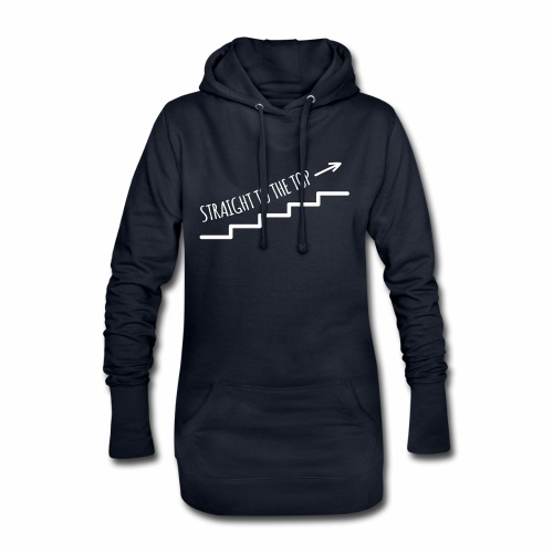 Straight to the top - Hoodie-Kleid