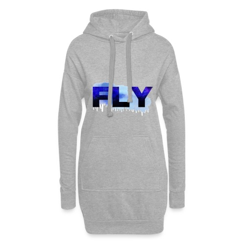 Paint Fly Design - Hoodie Dress