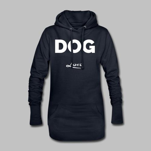 DOG LOVE - Geschenkidee für Hundebesitzer - Hoodie-Kleid