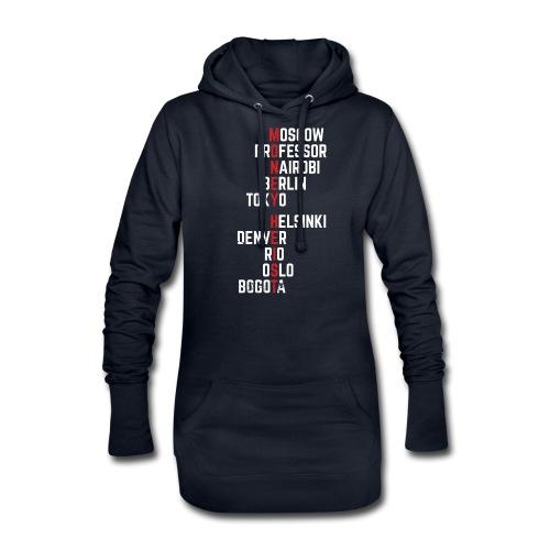 Money Heist Funny Acronim Design - Sudadera vestido con capucha