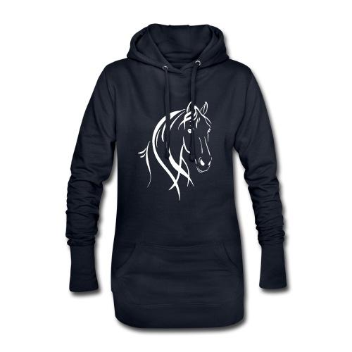 Pferdekopf - Hoodie-Kleid