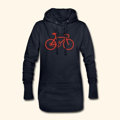 Rennrad, Race-Bike, Fahrrad - Hoodie-Kleid