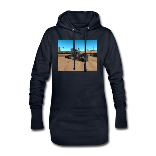 ats - Sweat-shirt à capuche long Femme