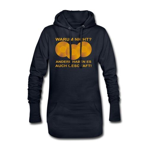 Goldene Schallplatte - Hoodie-Kleid