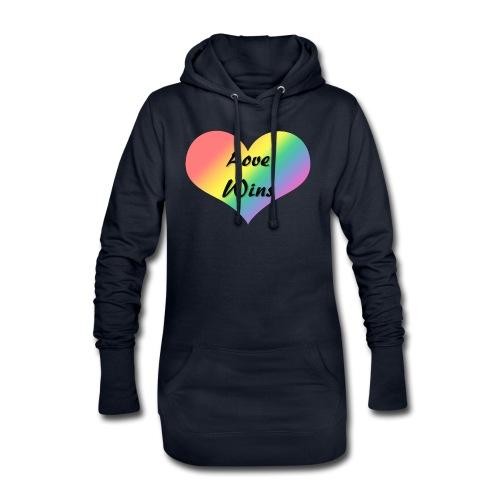Love Wins - Hoodie Dress