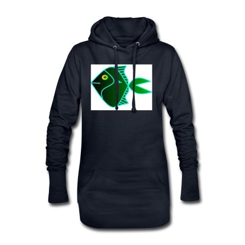Green anglefish - Hoodiejurk