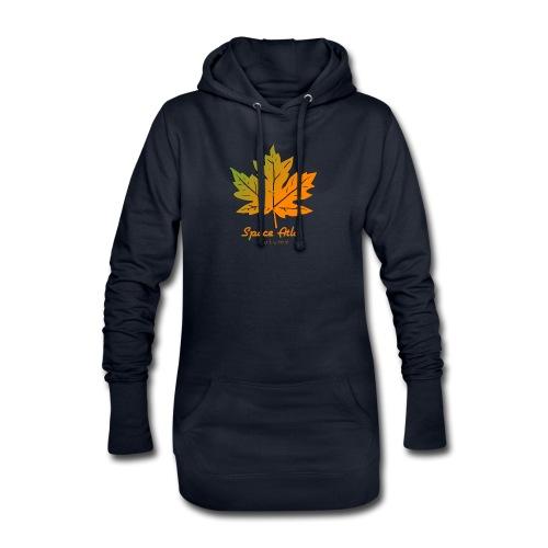 Space Atlas Long Sleeve T-shirt Autumn Leaves - Hoodie-kjole