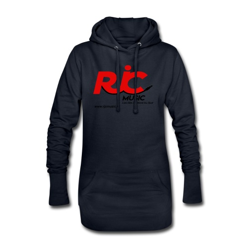 RJC Music avec site - Sweat-shirt à capuche long Femme