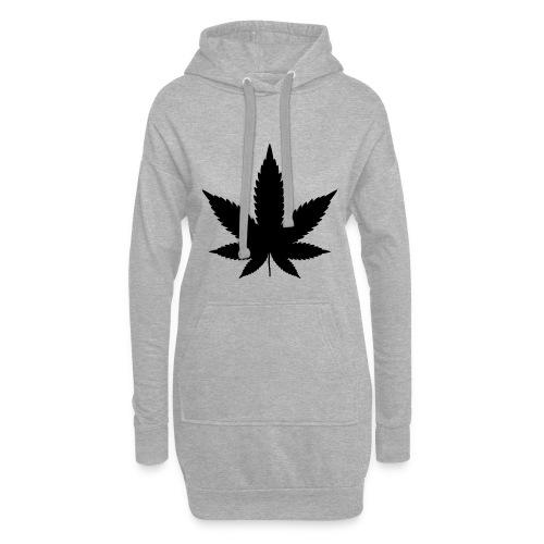 CannabisBlack - Hoodie-Kleid