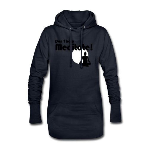 Meditate Woman - Hoodie-Kleid