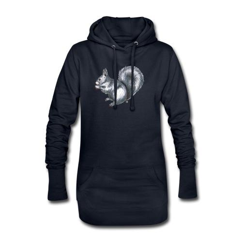 Eichhörnchen - Hoodie-Kleid