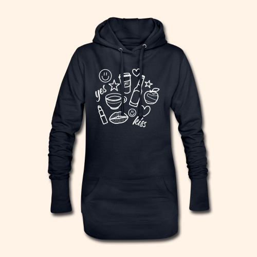 All things beautiful - Hoodie-Kleid
