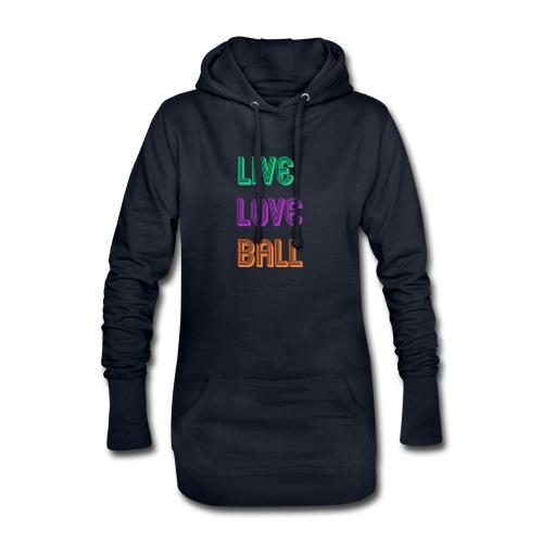 LIVE LOVE BALL - Hoodie-Kleid