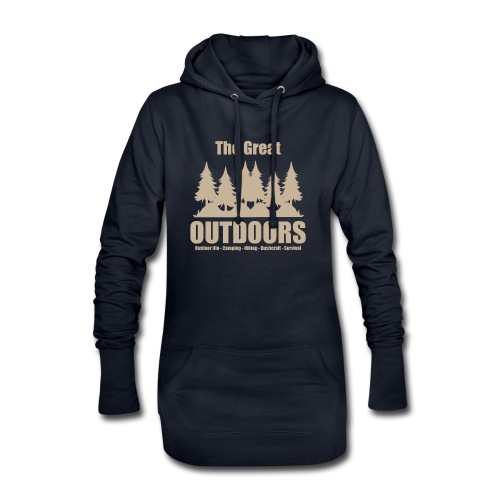The great outdoors - Clothes for outdoor life - Hoodie Dress