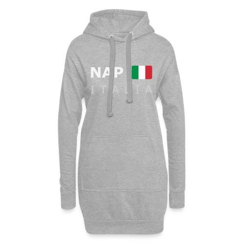NAP ITALIA white-lettered 400 dpi - Hoodie Dress