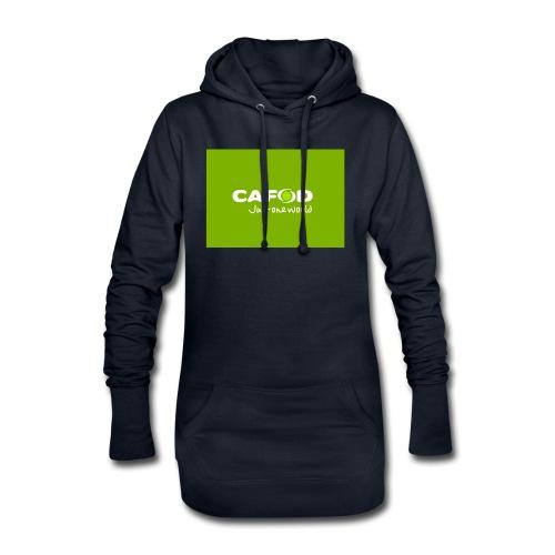 CAFOD Logo greenback - Hoodie Dress
