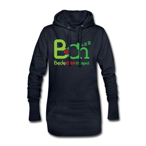 BDCh - Długa bluza z kapturem