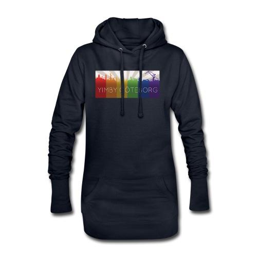 Yimby regnbågs-Tshirt - Luvklänning