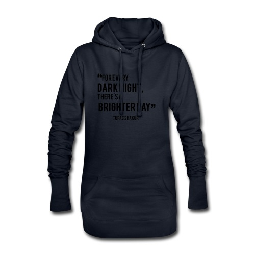 Mental Health Quote 2 - Hoodie Dress