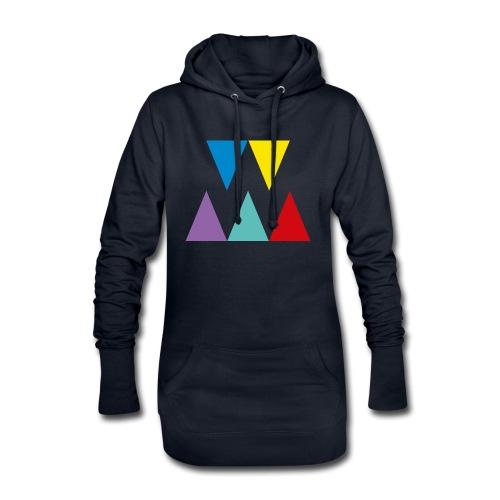 Logo We are les filles - Sweat-shirt à capuche long Femme