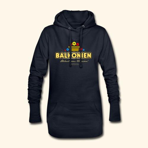 Balkonien T Shirt - Hoodie-Kleid