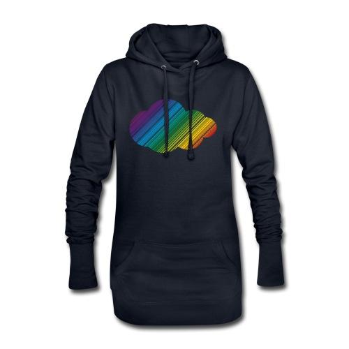 Regnbågsmoln - Luvklänning