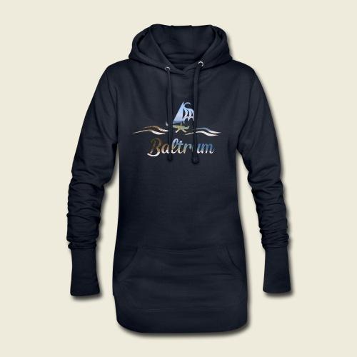 Baltrum Urlaub Nordsee Meer - Hoodie-Kleid