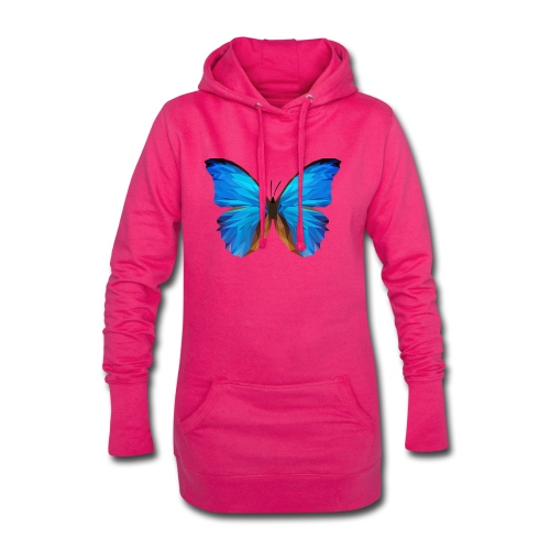 PAPILLON - MINIMALISTE - Sweat-shirt à capuche long Femme