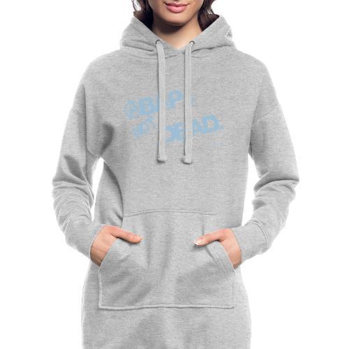 ABAPsNotDead light Blue - Hoodie-Kleid
