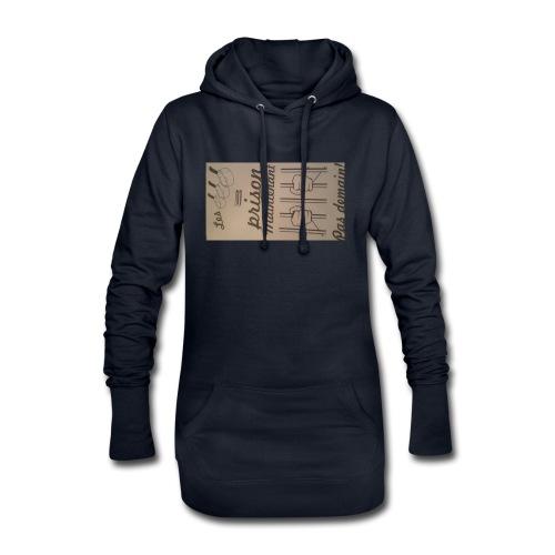 20170323 184455 - Sweat-shirt à capuche long Femme