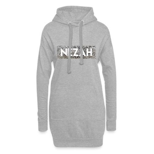 Nezah Snake Skin Box Logo - Hoodie Dress