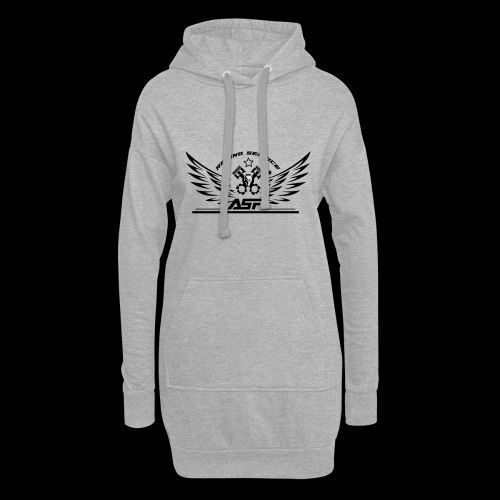 ASR ANGELS - Sweat-shirt à capuche long Femme