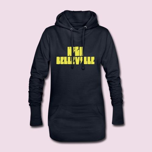 HIGH BELLEVILLE - Sweat-shirt à capuche long Femme