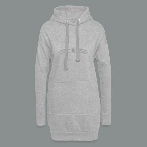grey - Vestitino con cappuccio