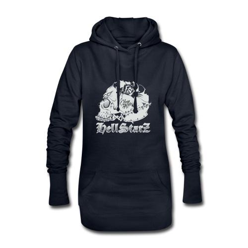 HELLSTARZ Skull Logo - Sweat-shirt à capuche long Femme