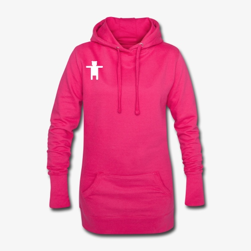 Women's Pink Premium T-shirt Ippis Entertainment - Hoodie Dress