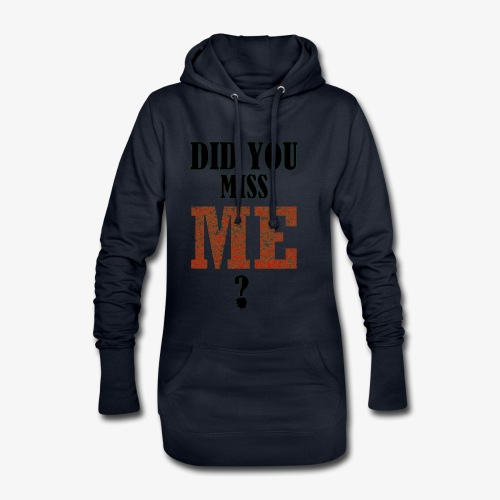 did you miss me black - Hoodiejurk