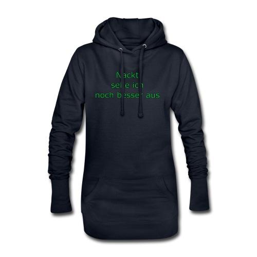 Nackt - Hoodie-Kleid