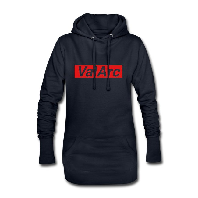 ValArc Text Merch Red Background