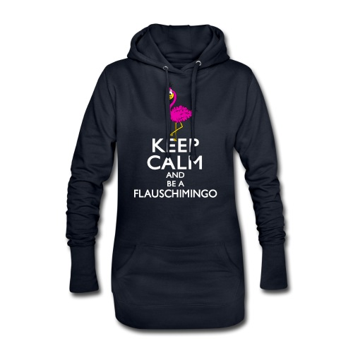 Keep calm and be a Flauschimingo - Hoodie-Kleid