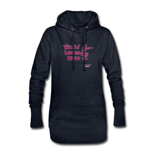 Girld Love Squat - Hoodie Dress